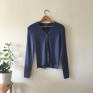 Vintage American Eagle Outfitters Blue Cardigan